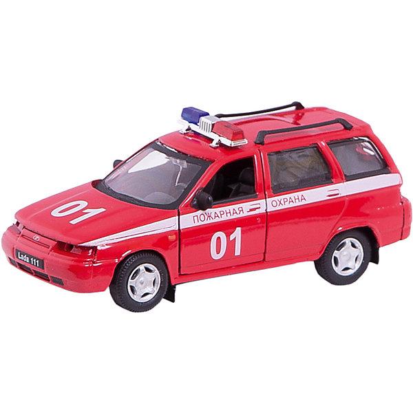 Машинка Lada 111 пожарная охрана 1:36, AutotimeМашинки<br>Характеристики товара:<br><br>• цвет: красный<br>• материал: металл, пластик<br>• размер: 16,5х7,х5,7 см<br>• вес: 100 г<br>• масштаб: 1:36<br>• прочный материал<br>• хорошая детализация<br>• открываются двери<br>• страна бренда: Россия<br>• страна производства: Китай<br><br>Коллекционная машинка LADA 111 пожарная охрана от бренда AUTOTIME станет отличным подарком для мальчика. Подробная детализация машинки порадует увлеченного коллекционера, а открывающиеся двери и свободно вращающиеся колеса придутся по душе юному владельцу игрушечного гаража. Эта игрушка подарит восторг и радость вашему ребенку. <br><br>Игрушка также воздействует на наглядно-образное мышление, логическое мышление, развивает мелкую моторику. Изделие выполнено из сертифицированных материалов, безопасных для детей.<br><br>Машинку «Lada 111» пожарная охрана от бренда AUTOTIME можно купить в нашем интернет-магазине.<br>Ширина мм: 165; Глубина мм: 57; Высота мм: 75; Вес г: 13; Возраст от месяцев: 36; Возраст до месяцев: 2147483647; Пол: Мужской; Возраст: Детский; SKU: 5583918;