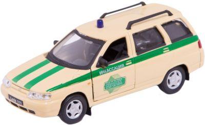 Машинка Lada 111 инкассация 1:36, Autotime