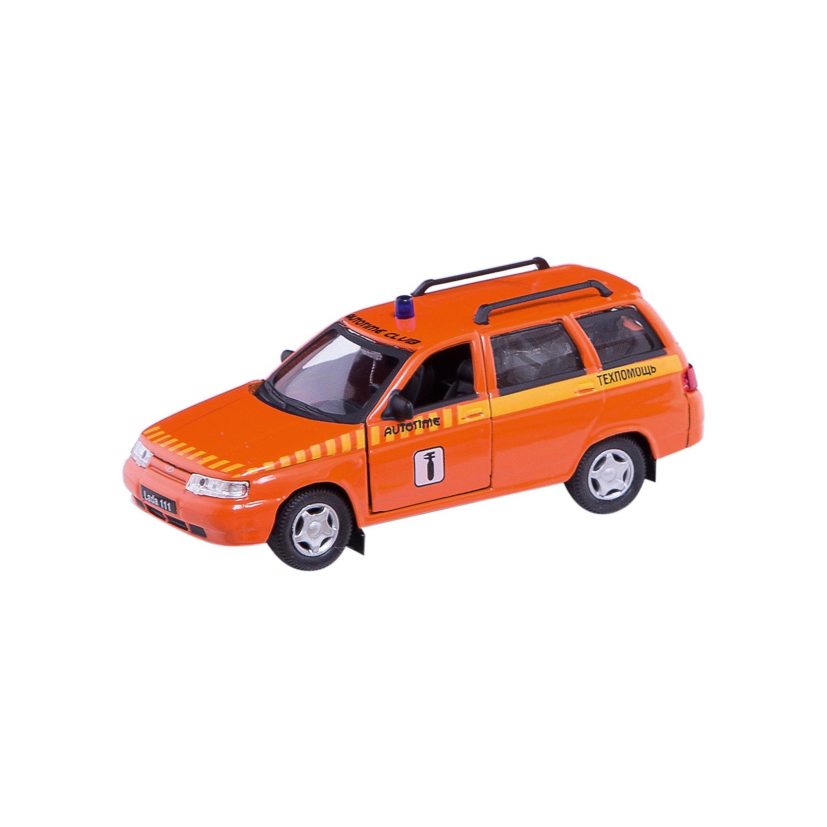 Машинка Lada 111 техпомощь 1:36, AutotimeМашинки<br>Характеристики товара:<br><br>• цвет: оранжевый<br>• материал: металл, пластик<br>• размер: 16,5х7,х5,7 см<br>• вес: 100 г<br>• масштаб: 1:36<br>• прочный материал<br>• хорошая детализация<br>• открываются двери<br>• страна бренда: Россия<br>• страна производства: Китай<br><br>Коллекционная машинка LADA 111 техпомощь от бренда AUTOTIME станет отличным подарком для мальчика. Подробная детализация машинки порадует увлеченного коллекционера, а открывающиеся двери и свободно вращающиеся колеса придутся по душе юному владельцу игрушечного гаража. Эта игрушка подарит восторг и радость вашему ребенку. <br><br>Игрушка также воздействует на наглядно-образное мышление, логическое мышление, развивает мелкую моторику. Изделие выполнено из сертифицированных материалов, безопасных для детей.<br><br>Машинку «Lada 111» техпомощь от бренда AUTOTIME можно купить в нашем интернет-магазине.<br><br>Ширина мм: 165<br>Глубина мм: 57<br>Высота мм: 75<br>Вес г: 13<br>Возраст от месяцев: 36<br>Возраст до месяцев: 2147483647<br>Пол: Мужской<br>Возраст: Детский<br>SKU: 5583921