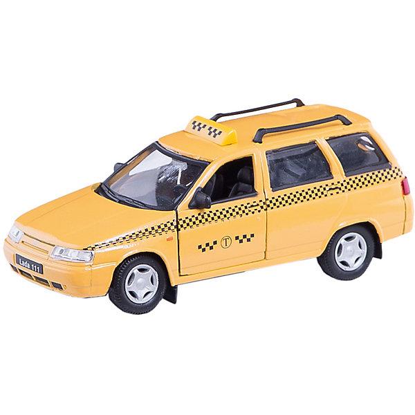 Машинка Lada 111 такси 1:36, AutotimeМашинки<br>Характеристики товара:<br><br>• цвет: желтый<br>• материал: металл, пластик<br>• размер: 16,5х7,х5,7 см<br>• вес: 100 г<br>• масштаб: 1:36<br>• прочный материал<br>• хорошая детализация<br>• открываются двери<br>• страна бренда: Россия<br>• страна производства: Китай<br><br>Коллекционная машинка LADA 111 такси от бренда AUTOTIME станет отличным подарком для мальчика. Подробная детализация машинки порадует увлеченного коллекционера, а открывающиеся двери и свободно вращающиеся колеса придутся по душе юному владельцу игрушечного гаража. Эта игрушка подарит восторг и радость вашему ребенку. <br><br>Игрушка также воздействует на наглядно-образное мышление, логическое мышление, развивает мелкую моторику. Изделие выполнено из сертифицированных материалов, безопасных для детей.<br><br>Машинку «Lada 111» такси от бренда AUTOTIME можно купить в нашем интернет-магазине.<br>Ширина мм: 165; Глубина мм: 57; Высота мм: 75; Вес г: 13; Возраст от месяцев: 36; Возраст до месяцев: 2147483647; Пол: Мужской; Возраст: Детский; SKU: 5583922;
