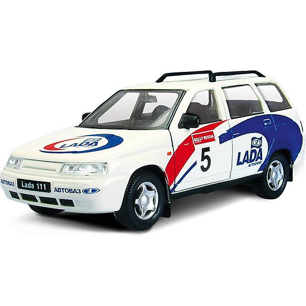 Машинка Lada 111 спорт 1:36, AutotimeМашинки<br>Характеристики товара:<br><br>• цвет: белый<br>• материал: металл, пластик<br>• размер: 16,5х7,х5,7 см<br>• вес: 100 г<br>• масштаб: 1:36<br>• прочный материал<br>• хорошая детализация<br>• открываются двери<br>• страна бренда: Россия<br>• страна производства: Китай<br><br>Коллекционная машинка LADA 111 спорт от бренда AUTOTIME станет отличным подарком для мальчика. Подробная детализация машинки порадует увлеченного коллекционера, а открывающиеся двери и свободно вращающиеся колеса придутся по душе юному владельцу игрушечного гаража. Эта игрушка подарит восторг и радость вашему ребенку. <br><br>Игрушка также воздействует на наглядно-образное мышление, логическое мышление, развивает мелкую моторику. Изделие выполнено из сертифицированных материалов, безопасных для детей.<br><br>Машинку «Lada 111» спорт от бренда AUTOTIME можно купить в нашем интернет-магазине.<br><br>Ширина мм: 165<br>Глубина мм: 57<br>Высота мм: 75<br>Вес г: 13<br>Возраст от месяцев: 36<br>Возраст до месяцев: 2147483647<br>Пол: Мужской<br>Возраст: Детский<br>SKU: 5583924