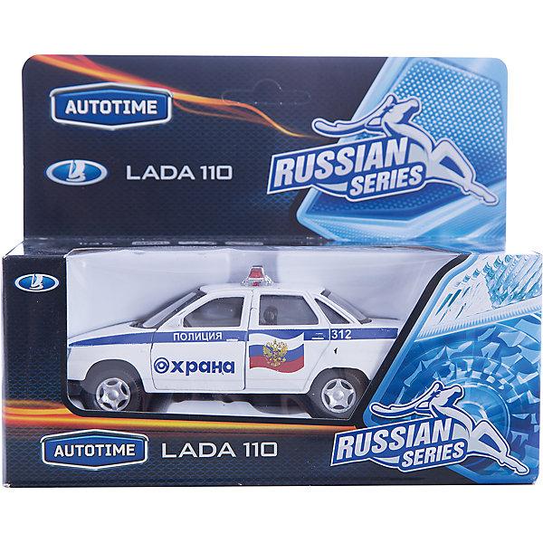 Машинка Lada 110 охрана (МВД) 1:36, Autotime
