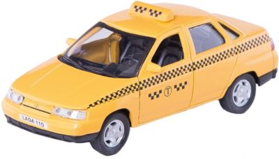 Машинка Lada 110 такси 1:36, Autotime