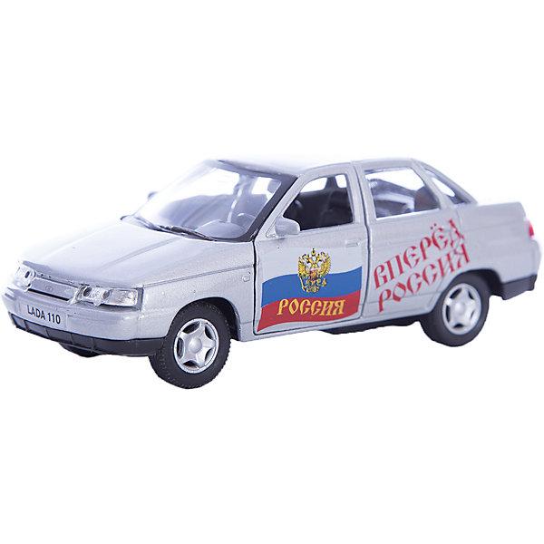 Машинка Lada 110 Россия 1:36, AutotimeМашинки<br>Характеристики товара:<br><br>• цвет: серебро<br>• материал: металл, пластик<br>• размер: 16,5х7,х5,7 см<br>• вес: 100 г<br>• масштаб: 1:36<br>• прочный материал<br>• хорошая детализация<br>• открываются двери<br>• страна бренда: Россия<br>• страна производства: Китай<br><br>Коллекционная машинка LADA 110 Россия от бренда AUTOTIME станет отличным подарком для мальчика. Подробная детализация машинки порадует увлеченного коллекционера, а открывающиеся двери и свободно вращающиеся колеса придутся по душе юному владельцу игрушечного гаража. Эта игрушка подарит восторг и радость вашему ребенку. <br><br>Игрушка также воздействует на наглядно-образное мышление, логическое мышление, развивает мелкую моторику. Изделие выполнено из сертифицированных материалов, безопасных для детей.<br><br>Машинку «Lada 110» Россия от бренда AUTOTIME можно купить в нашем интернет-магазине.<br>Ширина мм: 165; Глубина мм: 57; Высота мм: 75; Вес г: 13; Возраст от месяцев: 36; Возраст до месяцев: 2147483647; Пол: Мужской; Возраст: Детский; SKU: 5583933;