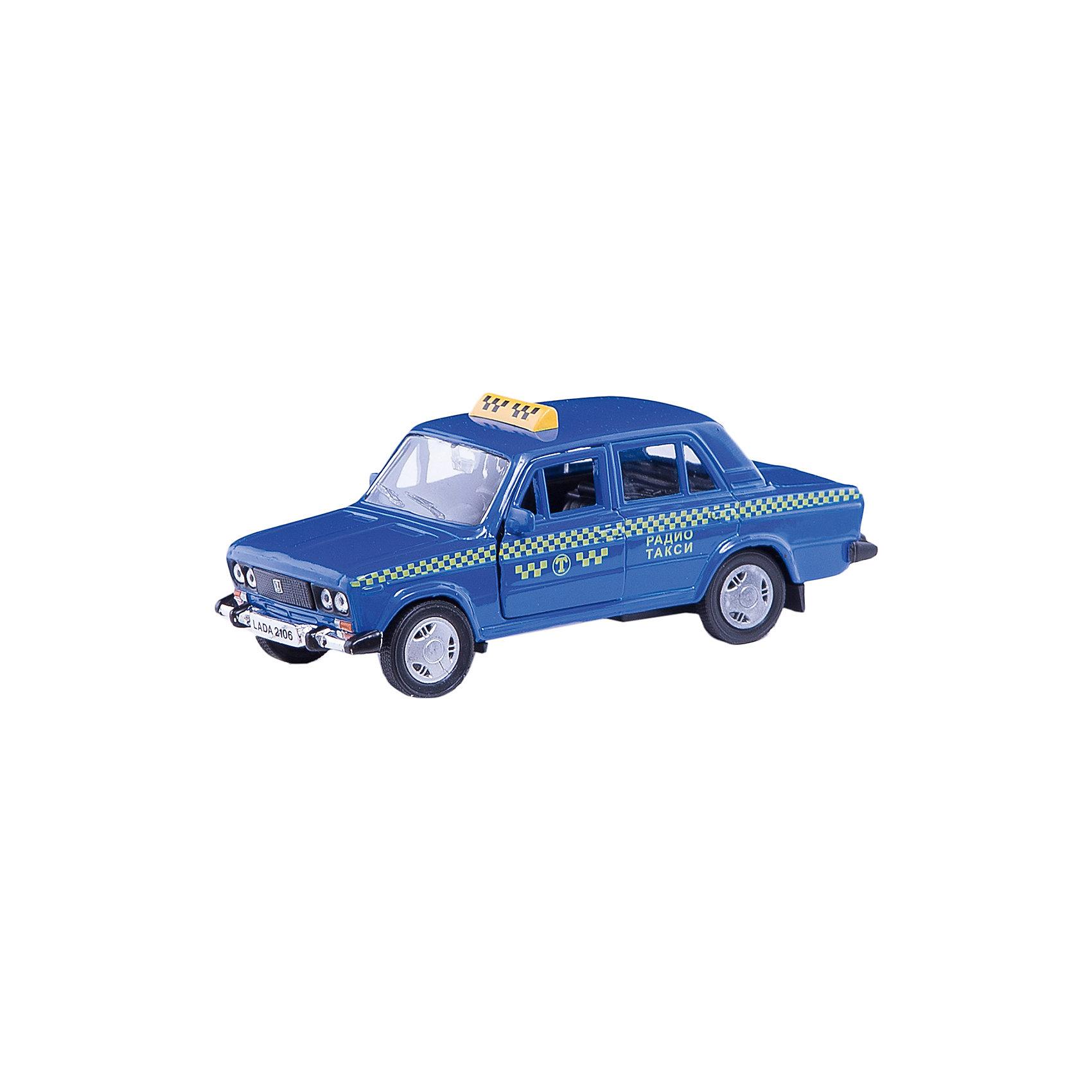 Машинка Lada 2106 такси 1:36, AutotimeМашинки<br>Характеристики товара:<br><br>• цвет: синий<br>• материал: металл, пластик<br>• размер: 16,5х7,х5,7 см<br>• вес: 100 г<br>• масштаб: 1:36<br>• прочный материал<br>• хорошая детализация<br>• открываются двери<br>• страна бренда: Россия<br>• страна производства: Китай<br><br>Коллекционная машинка LADA 2106 такси от бренда AUTOTIME станет отличным подарком для мальчика. Подробная детализация машинки порадует увлеченного коллекционера, а открывающиеся двери и свободно вращающиеся колеса придутся по душе юному владельцу игрушечного гаража. Эта игрушка подарит восторг и радость вашему ребенку. <br><br>Игрушка также воздействует на наглядно-образное мышление, логическое мышление, развивает мелкую моторику. Изделие выполнено из сертифицированных материалов, безопасных для детей.<br><br>Машинку «Lada 2106» такси от бренда AUTOTIME можно купить в нашем интернет-магазине.<br><br>Ширина мм: 165<br>Глубина мм: 57<br>Высота мм: 75<br>Вес г: 13<br>Возраст от месяцев: 36<br>Возраст до месяцев: 2147483647<br>Пол: Мужской<br>Возраст: Детский<br>SKU: 5583942