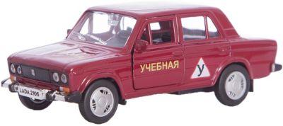 Машинка Lada 2106 автошкола 1:36, Autotime