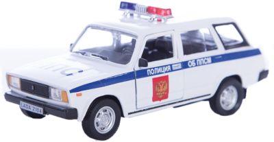 Машинка Lada 2104 полиция 1:36, Autotime