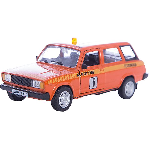 Машинка Lada 2104 техпомощь 1:36, Autotime