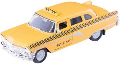 Машинка ГАЗ-13 Чайка такси 1:43, Autotime фото-1