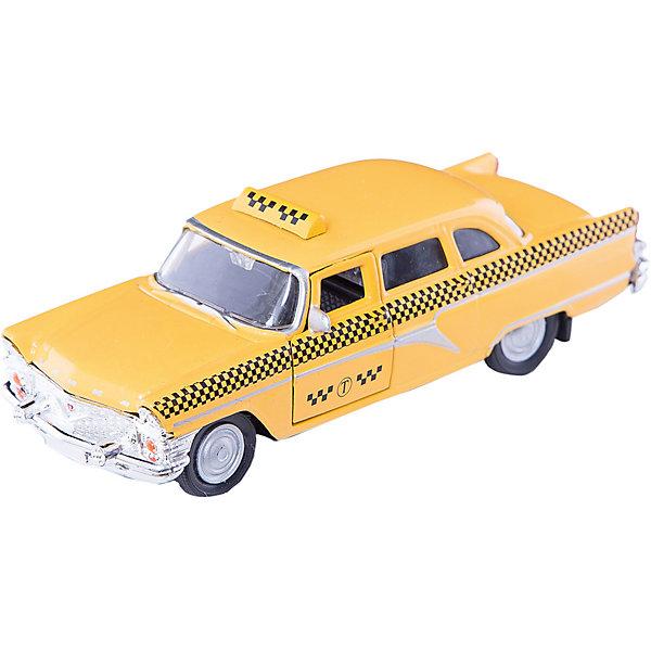 Машинка ГАЗ-13 Чайка такси 1:43, AutotimeМашинки<br>Характеристики товара:<br><br>• цвет: желтый<br>• материал: металл, пластик<br>• размер: 16х7,5х5,7 см<br>• вес: 100 г<br>• масштаб: 1:43<br>• прочный материал<br>• хорошая детализация<br>• открываются двери<br>• вращаются колеса<br>• коллекционная<br>• страна бренда: Россия<br>• страна производства: Китай<br><br>Металлическая машинка ГАЗ-13 Чайка от бренда AUTOTIME придется по душе мальчикам. Это идеальный подарок для ценителя и коллекционера автомобилей, которые выполнены с подробной детализацией. Игрушка является настоящей копией машины «Чайка», которая выпускалась в СССР. Двери машинки открываются свободно, колеса вращаются. Поэтому она может стать и частью коллекции, и выступать отдельной игрушкой.<br><br>Машинка может выполнять сразу несколько функций: развлекать ребенка, помогать вырабатывать практические качества: ловкость, координацию, мелкую моторику. Также в процессе увлекательной игры развивается фантазия ребенка. Изделие выполнено из сертифицированных материалов, безопасных для детей.<br><br>Машинку ГАЗ-13 Чайка такси от бренда AUTOTIME можно купить в нашем интернет-магазине.<br><br>Ширина мм: 165<br>Глубина мм: 57<br>Высота мм: 75<br>Вес г: 13<br>Возраст от месяцев: 36<br>Возраст до месяцев: 2147483647<br>Пол: Мужской<br>Возраст: Детский<br>SKU: 5583960