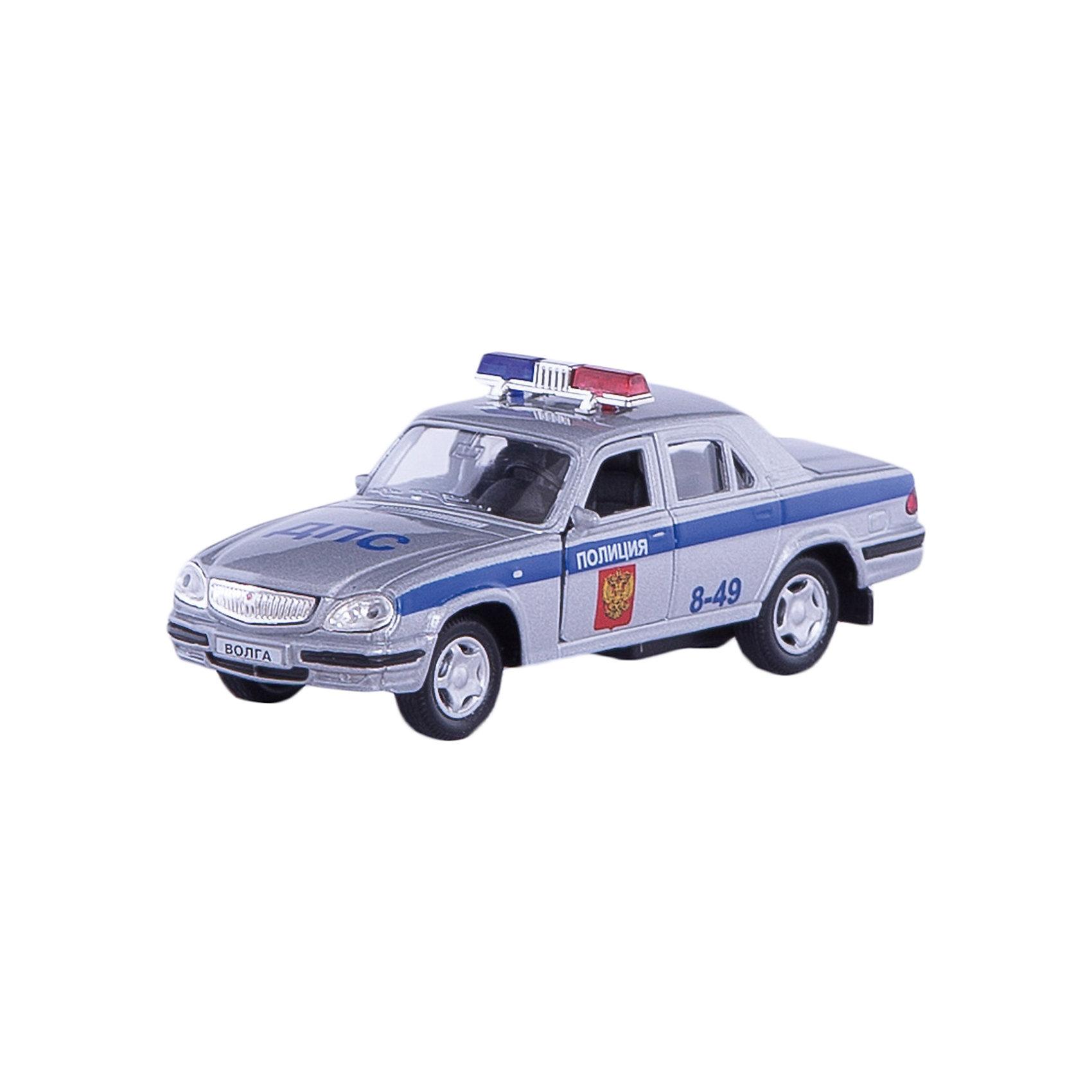 Машинка ГАЗ-31105 Волга полиция 1:43, AutotimeМашинки<br>Характеристики товара:<br><br>• цвет: белый<br>• материал: металл, пластик<br>• размер: 16х7,5х5,7 см<br>• вес: 100 г<br>• масштаб: 1:43<br>• прочный материал<br>• хорошая детализация<br>• открываются двери<br>• вращаются колеса<br>• коллекционная<br>• страна бренда: Россия<br>• страна производства: Китай<br><br>Металлическая машинка ГАЗ-31105 Волга от бренда AUTOTIME придется по душе мальчикам. Это идеальный подарок для ценителя и коллекционера автомобилей, которые выполнены с подробной детализацией. Игрушка является настоящей копией машины «Волга». Двери машинки открываются свободно, колеса вращаются. Поэтому она может стать и частью коллекции, и выступать отдельной игрушкой.<br><br>Машинка может выполнять сразу несколько функций: развлекать ребенка, помогать вырабатывать практические качества: ловкость, координацию, мелкую моторику. Также в процессе увлекательной игры развивается фантазия ребенка. Изделие выполнено из сертифицированных материалов, безопасных для детей.<br><br>Машинку ГАЗ-31105 Волга полиция от бренда AUTOTIME можно купить в нашем интернет-магазине.<br><br>Ширина мм: 165<br>Глубина мм: 57<br>Высота мм: 75<br>Вес г: 13<br>Возраст от месяцев: 36<br>Возраст до месяцев: 2147483647<br>Пол: Мужской<br>Возраст: Детский<br>SKU: 5583969