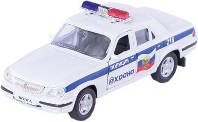Машинка ГАЗ-31105 Волга охрана МВД 1:43, Autotime