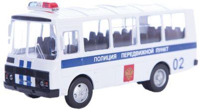 Машинка ПАЗ-32053 полиция 1:43, Autotime