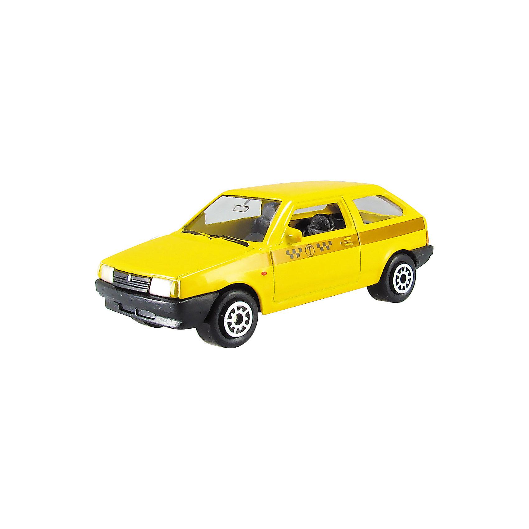 Машинка Lada 2108 такси 1:60, AutotimeМашинки<br>Характеристики товара:<br><br>• цвет: желтый<br>• материал: металл, пластик<br>• размер упаковки: 10 х 4 х 4 см<br>• вес: 100 г<br>• масштаб: 1:60<br>• инерционная<br>• хорошая детализация<br>• открываются двери<br>• вращаются колеса<br>• коллекционная<br>• страна бренда: Россия<br>• страна производства: Китай<br><br>Эта металлическая машинка от бренда AUTOTIME придется по душе мальчикам. Это идеальный подарок для ценителя и коллекционера автомобилей, которые выполнены с подробной детализацией. Игрушка является настоящей копией машины! Двери машинки открываются свободно, колеса вращаются. Поэтому она может стать и частью коллекции, и выступать отдельной игрушкой.<br><br>Машинка может выполнять сразу несколько функций: развлекать ребенка, помогать вырабатывать практические качества: ловкость, координацию, мелкую моторику. Также в процессе увлекательной игры развивается фантазия ребенка. Изделие выполнено из сертифицированных материалов, безопасных для детей.<br><br>Машинку Lada 2108 такси от бренда AUTOTIME можно купить в нашем интернет-магазине.<br><br>Ширина мм: 100<br>Глубина мм: 40<br>Высота мм: 40<br>Вес г: 16<br>Возраст от месяцев: 36<br>Возраст до месяцев: 2147483647<br>Пол: Мужской<br>Возраст: Детский<br>SKU: 5584009