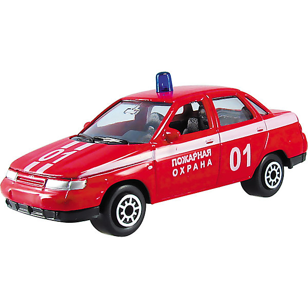 Машинка Lada 110 пожарная охрана 1:60, AutotimeМашинки<br>Характеристики товара:<br><br>• цвет: красный<br>• материал: металл, пластик<br>• размер упаковки: 10 х 4 х 4 см<br>• вес: 100 г<br>• масштаб: 1:60<br>• инерционная<br>• хорошая детализация<br>• открываются двери<br>• вращаются колеса<br>• коллекционная<br>• страна бренда: Россия<br>• страна производства: Китай<br><br>Эта металлическая машинка от бренда AUTOTIME придется по душе мальчикам. Это идеальный подарок для ценителя и коллекционера автомобилей, которые выполнены с подробной детализацией. Игрушка является настоящей копией машины! Двери машинки открываются свободно, колеса вращаются. Поэтому она может стать и частью коллекции, и выступать отдельной игрушкой.<br><br>Машинка может выполнять сразу несколько функций: развлекать ребенка, помогать вырабатывать практические качества: ловкость, координацию, мелкую моторику. Также в процессе увлекательной игры развивается фантазия ребенка. Изделие выполнено из сертифицированных материалов, безопасных для детей.<br><br>Машинку Lada 110 пожарная охрана от бренда AUTOTIME можно купить в нашем интернет-магазине.<br><br>Ширина мм: 100<br>Глубина мм: 40<br>Высота мм: 40<br>Вес г: 16<br>Возраст от месяцев: 36<br>Возраст до месяцев: 2147483647<br>Пол: Мужской<br>Возраст: Детский<br>SKU: 5584012