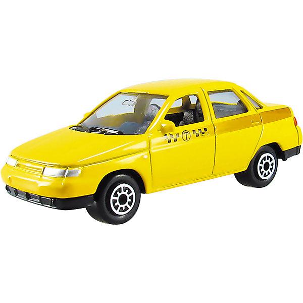 Машинка Lada 110 такси 1:60, AutotimeМашинки<br>Характеристики товара:<br><br>• цвет: желтый<br>• материал: металл, пластик<br>• размер упаковки: 10 х 4 х 4 см<br>• вес: 100 г<br>• масштаб: 1:60<br>• инерционная<br>• хорошая детализация<br>• открываются двери<br>• вращаются колеса<br>• коллекционная<br>• страна бренда: Россия<br>• страна производства: Китай<br><br>Эта металлическая машинка от бренда AUTOTIME придется по душе мальчикам. Это идеальный подарок для ценителя и коллекционера автомобилей, которые выполнены с подробной детализацией. Игрушка является настоящей копией машины! Двери машинки открываются свободно, колеса вращаются. Поэтому она может стать и частью коллекции, и выступать отдельной игрушкой.<br><br>Машинка может выполнять сразу несколько функций: развлекать ребенка, помогать вырабатывать практические качества: ловкость, координацию, мелкую моторику. Также в процессе увлекательной игры развивается фантазия ребенка. Изделие выполнено из сертифицированных материалов, безопасных для детей.<br><br>Машинку Lada 110 такси от бренда AUTOTIME можно купить в нашем интернет-магазине.<br><br>Ширина мм: 100<br>Глубина мм: 40<br>Высота мм: 40<br>Вес г: 16<br>Возраст от месяцев: 36<br>Возраст до месяцев: 2147483647<br>Пол: Мужской<br>Возраст: Детский<br>SKU: 5584013