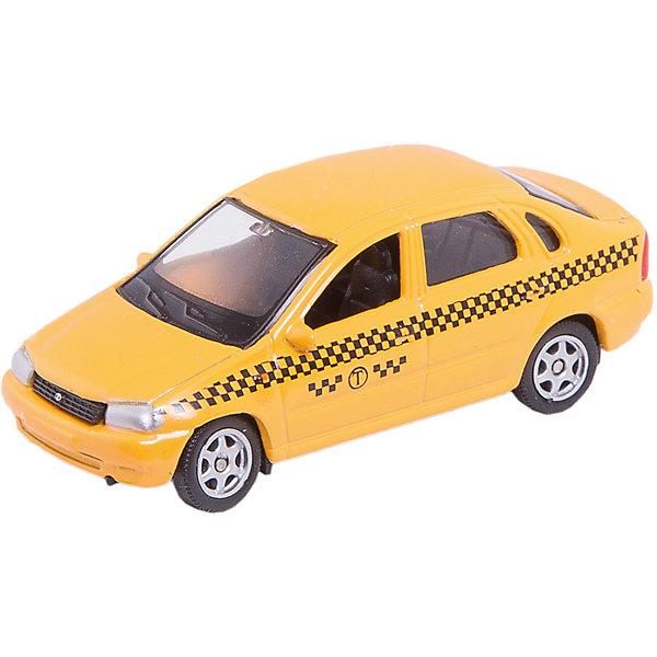 Машинка Lada Kalina такси 1:60, AutotimeМашинки<br>Характеристики товара:<br><br>• цвет: желтый<br>• материал: металл, пластик<br>• размер упаковки: 10 х 4 х 4 см<br>• вес: 100 г<br>• масштаб: 1:60<br>• инерционная<br>• хорошая детализация<br>• открываются двери<br>• вращаются колеса<br>• коллекционная<br>• страна бренда: Россия<br>• страна производства: Китай<br><br>Эта металлическая машинка от бренда AUTOTIME придется по душе мальчикам. Это идеальный подарок для ценителя и коллекционера автомобилей, которые выполнены с подробной детализацией. Игрушка является настоящей копией машины! Двери машинки открываются свободно, колеса вращаются. Поэтому она может стать и частью коллекции, и выступать отдельной игрушкой.<br><br>Машинка может выполнять сразу несколько функций: развлекать ребенка, помогать вырабатывать практические качества: ловкость, координацию, мелкую моторику. Также в процессе увлекательной игры развивается фантазия ребенка. Изделие выполнено из сертифицированных материалов, безопасных для детей.<br><br>Машинку Lada Kalina такси от бренда AUTOTIME можно купить в нашем интернет-магазине.<br><br>Ширина мм: 100<br>Глубина мм: 40<br>Высота мм: 40<br>Вес г: 16<br>Возраст от месяцев: 36<br>Возраст до месяцев: 2147483647<br>Пол: Мужской<br>Возраст: Детский<br>SKU: 5584016