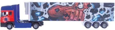 Машинка Spider-Man Мстители тягач с полуприцепом 1:48, Autotime