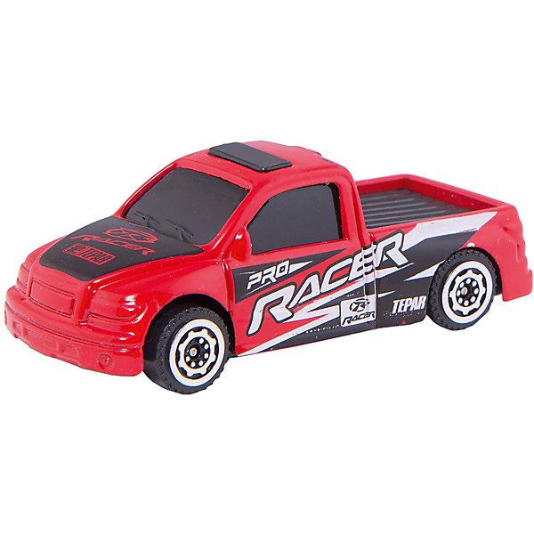 Машинка Pick-Up Heavy Duty ралли 1:56, AutotimeМашинки<br>Характеристики товара:<br><br>• цвет: красный<br>• материал: металл, пластик<br>• размер упаковки: 12 x 14 x 6 см<br>• размер игрушки: 9 х 4 см<br>• вес: 100 г<br>• масштаб: 1:56<br>• хорошая детализация<br>• упаковка: коробка<br>• прочный материал<br>• страна бренда: Россия<br>• страна производства: Китай<br><br>Такая машинка приведет мальчишек в восторг! Она отлично детализирована и так похожа на настоящую. С подобной игрушкой можно придумать множество сюжетов для игр. Благодаря прочному материалу она сможет долго радовать ребенка.<br><br>Машинка может выполнять сразу несколько функций: развлекать ребенка, помогать вырабатывать практические качества: ловкость, координацию, мелкую моторику. Также в процессе увлекательной игры развивается фантазия ребенка. Изделие выполнено из сертифицированных материалов, безопасных для детей.<br><br>Машинку Pick-Up Heavy Duty ралли от бренда AUTOTIME можно купить в нашем интернет-магазине.<br><br>Ширина мм: 165<br>Глубина мм: 57<br>Высота мм: 75<br>Вес г: 13<br>Возраст от месяцев: 36<br>Возраст до месяцев: 2147483647<br>Пол: Мужской<br>Возраст: Детский<br>SKU: 5584024