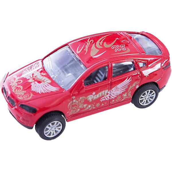 Машинка Offroader Legend красный райдер 1:48, AutotimeМашинки<br>Характеристики товара:<br><br>• цвет: красный<br>• материал: металл, пластик<br>• размер упаковки: 12.5 x 7 x 5.5 см<br>• яркие рисунки<br>• вес: 100 г<br>• масштаб: 1:48<br>• хорошая детализация<br>• упаковка: коробка<br>• прочный материал<br>• страна бренда: Россия<br>• страна производства: Китай<br><br>Такая машинка приведет мальчишек в восторг! Она отлично детализирована и так похожа на настоящую. С подобной игрушкой можно придумать множество сюжетов для игр. Благодаря прочному материалу она сможет долго радовать ребенка.<br><br>Машинка может выполнять сразу несколько функций: развлекать ребенка, помогать вырабатывать практические качества: ловкость, координацию, мелкую моторику. Также в процессе увлекательной игры развивается фантазия ребенка. Изделие выполнено из сертифицированных материалов, безопасных для детей.<br><br>Машинку Offroader Legend красный райдер от бренда AUTOTIME можно купить в нашем интернет-магазине.<br><br>Ширина мм: 165<br>Глубина мм: 57<br>Высота мм: 75<br>Вес г: 13<br>Возраст от месяцев: 36<br>Возраст до месяцев: 2147483647<br>Пол: Мужской<br>Возраст: Детский<br>SKU: 5584027