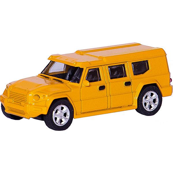 Машинка European Armored Car со светом фар 1:43, AutotimeМашинки<br>Характеристики товара:<br><br>• цвет: желтый<br>• материал: металл, пластик<br>• размер упаковки: 15х6х7 см<br>• батарейки входят в комплект<br>• вес: 100 г<br>• масштаб: 1:48<br>• световые эффекты<br>• инерционный механизм<br>• хорошая детализация<br>• упаковка: коробка<br>• прочный материал<br>• страна бренда: Россия<br>• страна производства: Китай<br><br>Такая машинка приведет мальчишек в восторг! Она отлично детализирована и так похожа на настоящую. С подобной игрушкой можно придумать множество сюжетов для игр. Благодаря прочному материалу она сможет долго радовать ребенка.<br><br>Машинка может выполнять сразу несколько функций: развлекать ребенка, помогать вырабатывать практические качества: ловкость, координацию, мелкую моторику. Также в процессе увлекательной игры развивается фантазия ребенка. Изделие выполнено из сертифицированных материалов, безопасных для детей.<br><br>Машинку European Armored Car со светом фар 1:43 от бренда AUTOTIME можно купить в нашем интернет-магазине.<br>Ширина мм: 165; Глубина мм: 57; Высота мм: 75; Вес г: 13; Возраст от месяцев: 36; Возраст до месяцев: 2147483647; Пол: Мужской; Возраст: Детский; SKU: 5584032;