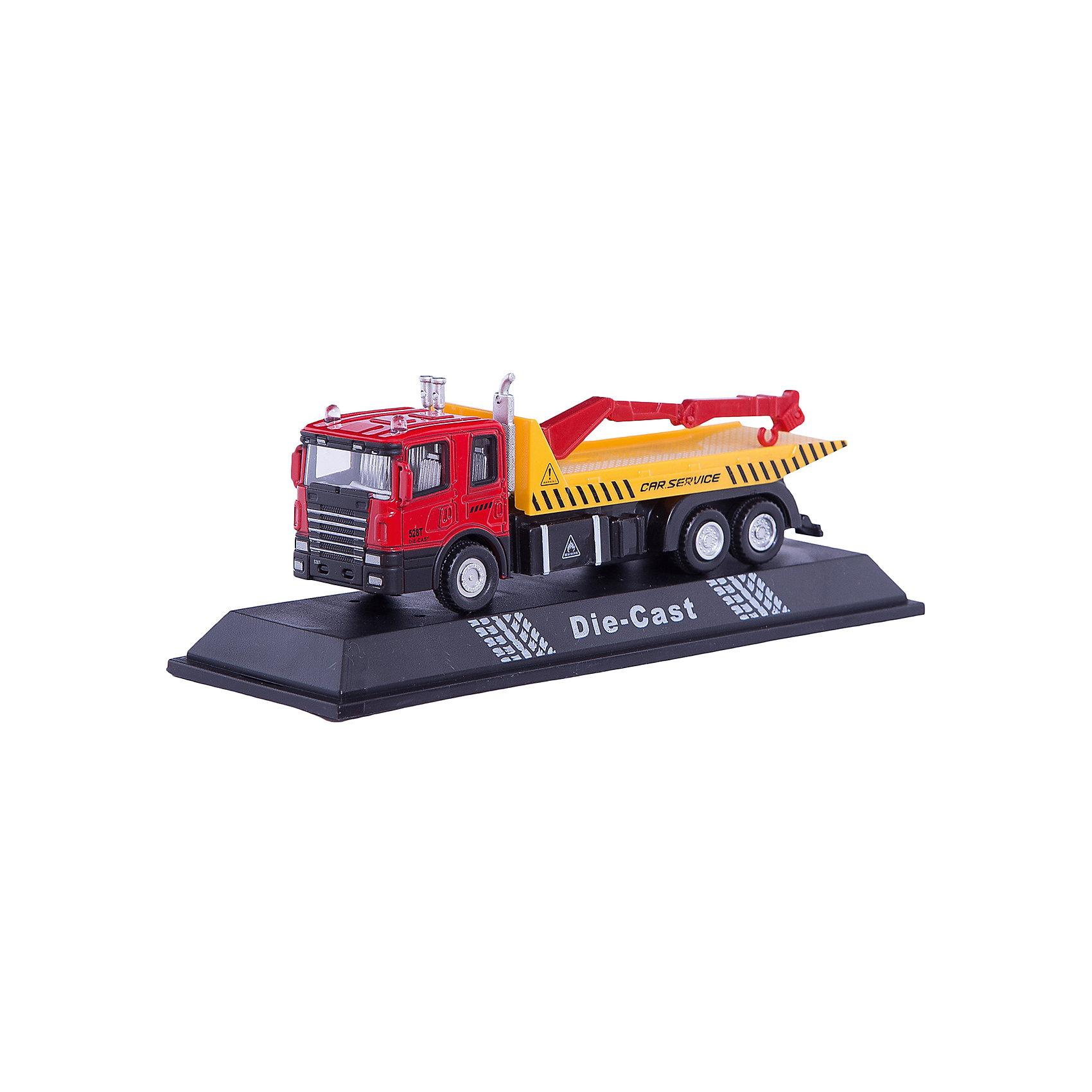 Машинка Flatbed Crane Truck с манипулятором 1:48, AutotimeМашинки<br>Характеристики товара:<br><br>• цвет: желтый<br>• возраст: от 3 лет<br>• материал: металл, пластик<br>• масштаб: 1:48<br>• колеса вращаются<br>• размер упаковки: 16х6х7 см<br>• вес с упаковкой: 100 г<br>• страна бренда: Россия, Китай<br>• страна изготовитель: Китай<br><br>Эта коллекционная модель машинки отличается высокой детализацией. Окна - прозрачные, поэтому через них можно увидеть салон.<br><br>Сделана машинка из прочного и безопасного материала. Модель с манипулятором.<br><br>Машинку «Flatbed Crane Truck» с манипулятором 1:48, Autotime (Автотайм) можно купить в нашем интернет-магазине.<br><br>Ширина мм: 165<br>Глубина мм: 57<br>Высота мм: 75<br>Вес г: 13<br>Возраст от месяцев: 36<br>Возраст до месяцев: 2147483647<br>Пол: Мужской<br>Возраст: Детский<br>SKU: 5584048