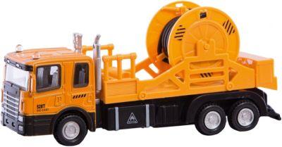 Машинка Mechanic Truck с катушкой 1:48, Autotime