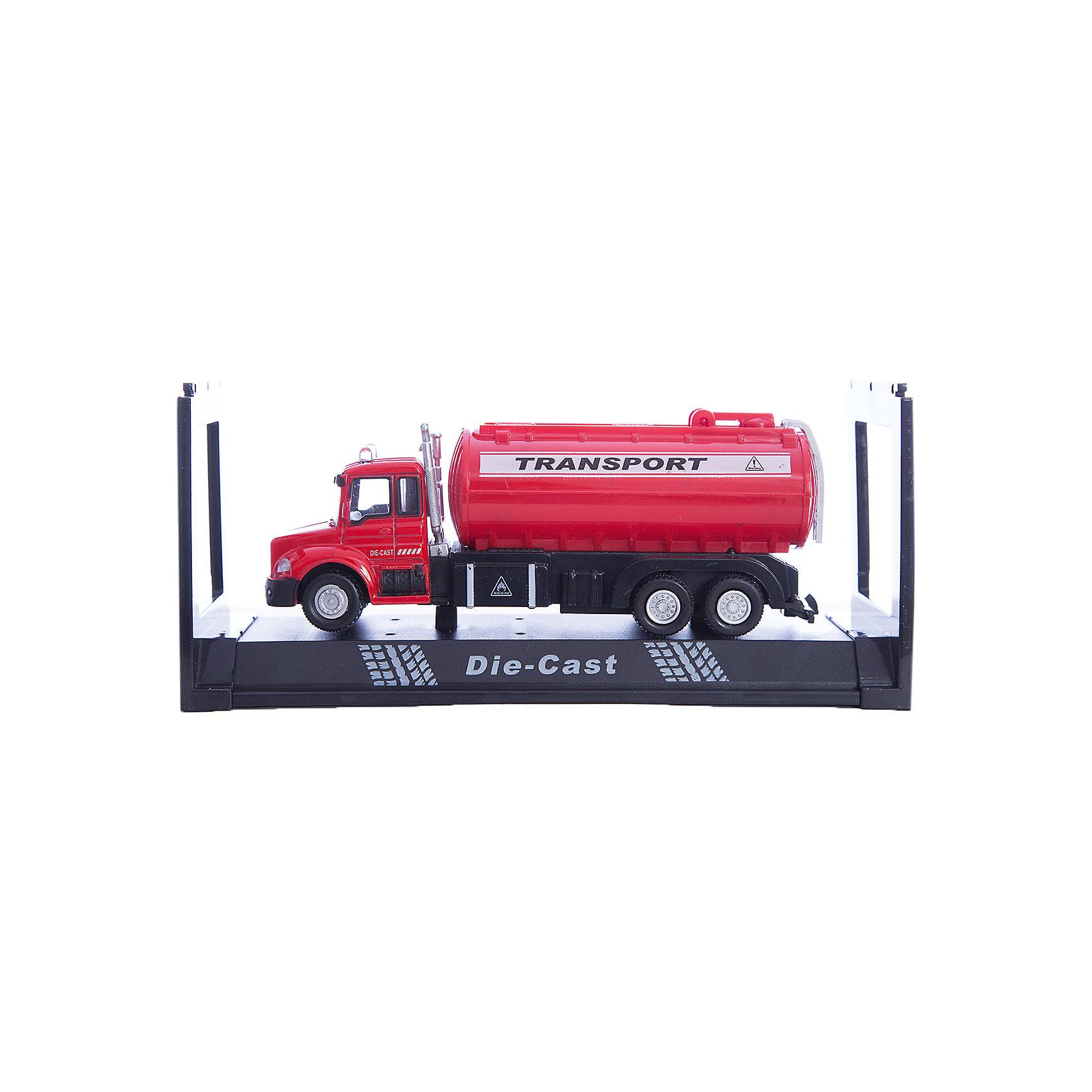 Машинка Tank Wagon Truck цистерна 1:48, AutotimeМашинки<br>Характеристики товара:<br><br>• цвет: красный, желтый<br>• возраст: от 3 лет<br>• материал: металл, пластик<br>• масштаб: 1:48<br>• колеса вращаются<br>• размер упаковки: 16х6х7 см<br>• вес с упаковкой: 100 г<br>• страна бренда: Россия, Китай<br>• страна изготовитель: Китай<br><br>Такая отлично детализированная машинка является коллекционной моделью. Окна - прозрачные, поэтому через них можно увидеть салон.<br><br>Сделана машинка из прочного и безопасного материала. Модель с цистерной.<br><br>Машинку «Tank Wagon Truck» цистерна 1:48, Autotime (Автотайм) можно купить в нашем интернет-магазине.<br><br>Ширина мм: 165<br>Глубина мм: 57<br>Высота мм: 75<br>Вес г: 13<br>Возраст от месяцев: 36<br>Возраст до месяцев: 2147483647<br>Пол: Мужской<br>Возраст: Детский<br>SKU: 5584054