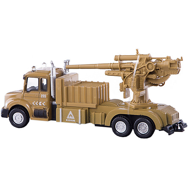 Машинка Military Gun Truck с орудием 1:48, AutotimeМашинки<br>Характеристики товара:<br><br>• цвет: желтый<br>• возраст: от 3 лет<br>• материал: металл, пластик<br>• масштаб: 1:48<br>• колеса вращаются<br>• размер упаковки: 16х6х7 см<br>• вес с упаковкой: 100 г<br>• страна бренда: Россия, Китай<br>• страна изготовитель: Китай<br><br>Эта коллекционная модель машинки отличается высокой детализацией. Окна - прозрачные, поэтому через них можно увидеть салон.<br><br>Сделана машинка из прочного и безопасного материала. Модель с орудием.<br><br>Машинку «Military Gun Truck» с орудием 1:48, Autotime (Автотайм) можно купить в нашем интернет-магазине.<br><br>Ширина мм: 165<br>Глубина мм: 57<br>Высота мм: 75<br>Вес г: 13<br>Возраст от месяцев: 36<br>Возраст до месяцев: 2147483647<br>Пол: Мужской<br>Возраст: Детский<br>SKU: 5584058