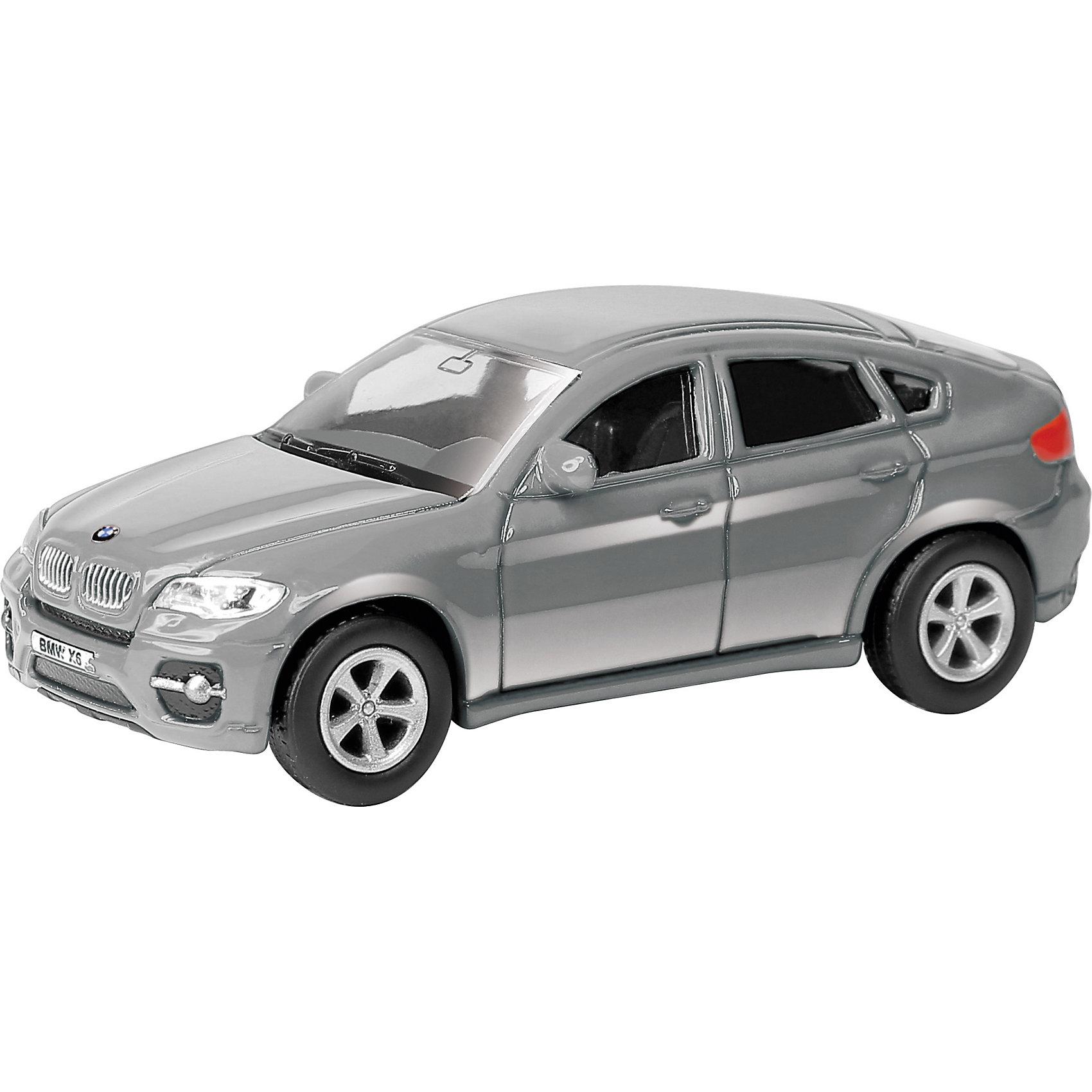Машинка BMW X6 1:64, AutotimeМашинки<br>Характеристики товара:<br><br>• цвет: красный, серый<br>• возраст: от 3 лет<br>• материал: металл, пластик<br>• масштаб: 1:64<br>• колеса вращаются<br>• размер упаковки: 15х6х6 см<br>• вес с упаковкой: 100 г<br>• страна бренда: Россия, Китай<br>• страна изготовитель: Китай<br><br>Такая машинка представляет собой миниатюрную копию реально существующей модели. Она отличается высокой детализацией, является коллекционной моделью. <br><br>Машинка произведена из прочного и безопасного материала. Благодаря прозрачным стеклам виден подробно проработанный салон.<br><br>Машинку «BMW X6» 1:64, Autotime (Автотайм) можно купить в нашем интернет-магазине.<br><br>Ширина мм: 90<br>Глубина мм: 42<br>Высота мм: 40<br>Вес г: 13<br>Возраст от месяцев: 36<br>Возраст до месяцев: 2147483647<br>Пол: Мужской<br>Возраст: Детский<br>SKU: 5584082