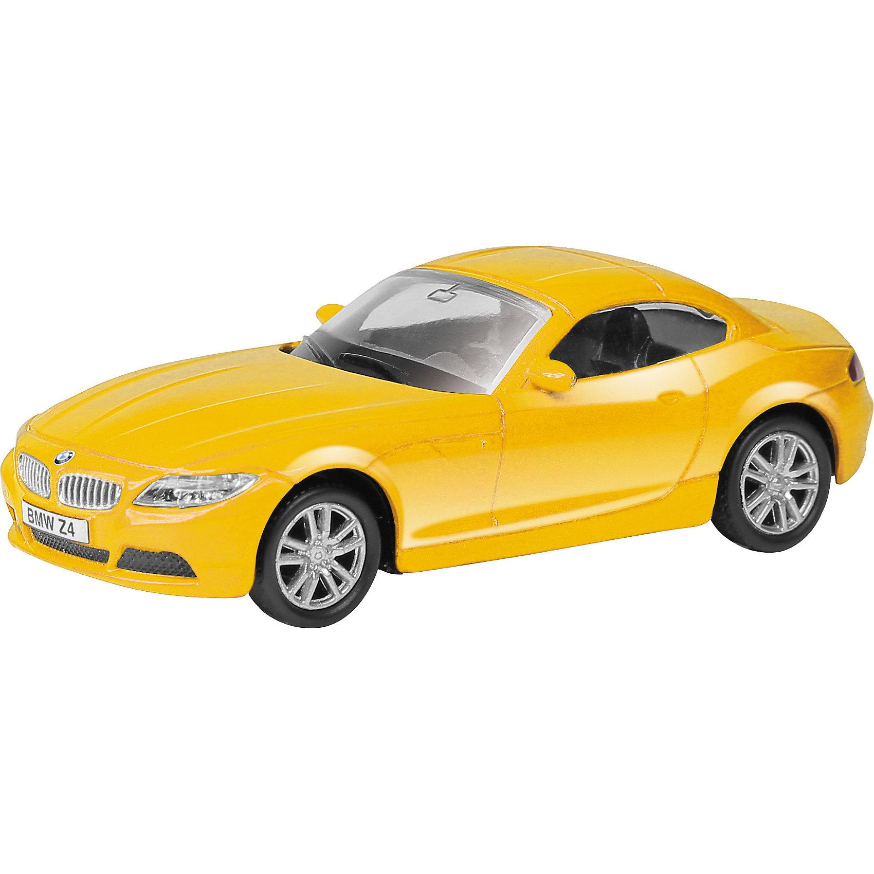 Машинка BMW Z4 1:64, AutotimeМашинки<br>Характеристики товара:<br><br>• цвет: в ассортименте<br>• возраст: от 3 лет<br>• материал: металл, пластик<br>• масштаб: 1:64<br>• инерционная<br>• крутятся колеса<br>• открываются двери<br>• размер упаковки: 15х6х6 см<br>• вес с упаковкой: 100 г<br>• страна бренда: Россия, Китай<br>• страна изготовитель: Китай<br><br>Эта отлично детализированная машинка является коллекционной моделью. Это - миниатюрная копия реально существующей модели.<br><br>Сделана машинка из прочного и безопасного материала. Благодаря прозрачным стеклам виден подробно проработанный салон.<br><br>Машинку «BMW Z4» 1:64, Autotime (Автотайм) можно купить в нашем интернет-магазине.<br><br>Ширина мм: 90<br>Глубина мм: 42<br>Высота мм: 40<br>Вес г: 13<br>Возраст от месяцев: 36<br>Возраст до месяцев: 2147483647<br>Пол: Мужской<br>Возраст: Детский<br>SKU: 5584083