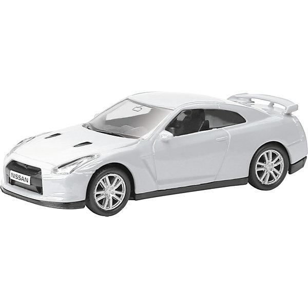 Машинка Nissan GT-R (R35) 1:64, AutotimeМашинки<br>Характеристики товара:<br><br>• цвет: в ассортименте<br>• возраст: от 3 лет<br>• материал: металл, пластик<br>• масштаб: 1:64<br>• крутятся колеса<br>• открываются двери<br>• размер упаковки: 9х4х4 см<br>• вес с упаковкой: 100 г<br>• страна бренда: Россия, Китай<br>• страна изготовитель: Китай<br><br>Эта отлично детализированная машинка является коллекционной моделью. Это - миниатюрная копия реально существующей модели.<br><br>Сделана машинка из прочного и безопасного материала. Благодаря прозрачным стеклам виден подробно проработанный салон.<br><br>Машинку «Nissan GT-R (R35)» 1:64, Autotime (Автотайм) можно купить в нашем интернет-магазине.<br><br>Ширина мм: 90<br>Глубина мм: 42<br>Высота мм: 40<br>Вес г: 13<br>Возраст от месяцев: 36<br>Возраст до месяцев: 2147483647<br>Пол: Мужской<br>Возраст: Детский<br>SKU: 5584085