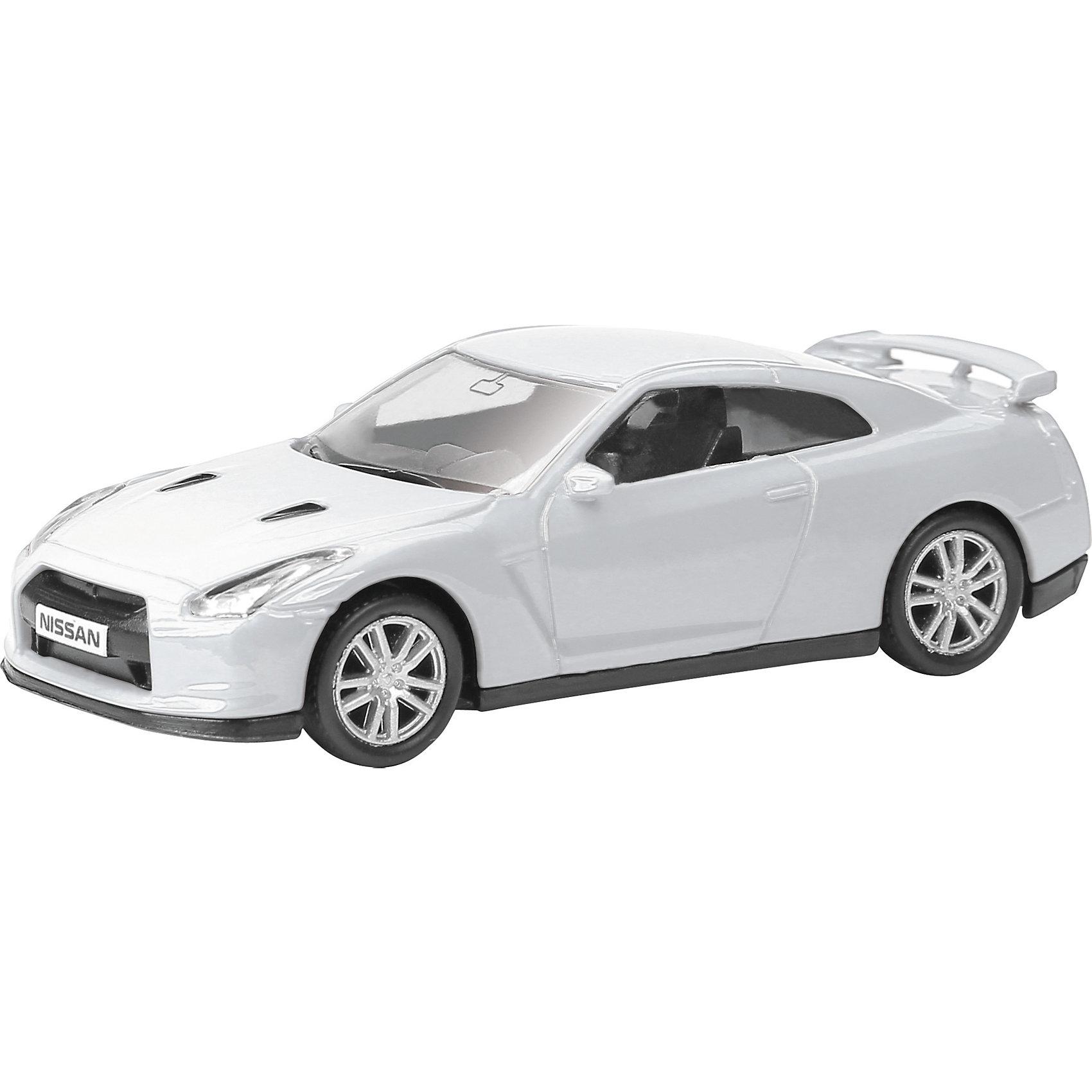 Машинка Nissan GT-R (R35) 1:64, AutotimeМашинки<br><br><br>Ширина мм: 90<br>Глубина мм: 42<br>Высота мм: 40<br>Вес г: 13<br>Возраст от месяцев: 36<br>Возраст до месяцев: 2147483647<br>Пол: Мужской<br>Возраст: Детский<br>SKU: 5584085