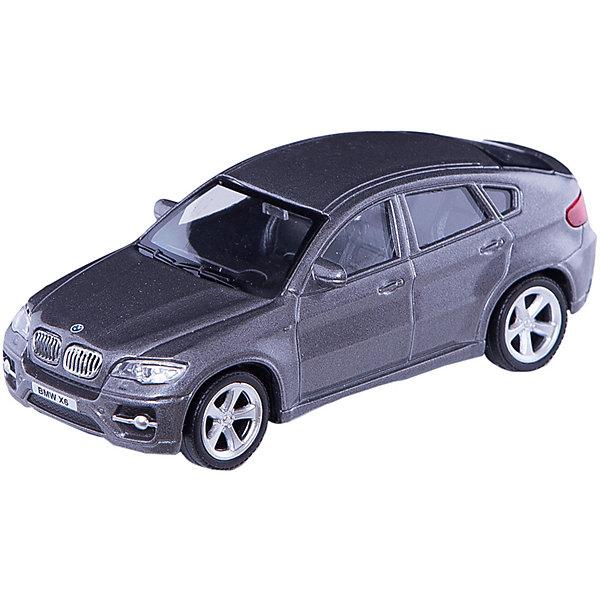 Машинка BMW X6 1:43, AutotimeМашинки<br>Характеристики товара:<br><br>• цвет: красный<br>• возраст: от 3 лет<br>• материал: металл, пластик<br>• масштаб: 1:43<br>• размер упаковки: 16х6х7 см<br>• вес с упаковкой: 100 г<br>• страна бренда: Россия, Китай<br>• страна изготовитель: Китай<br><br>Эта коллекционная модель машинки отличается высокой детализацией. Окна - прозрачные, поэтому через них можно увидеть салон.<br><br>Сделана машинка из прочного и безопасного материала. Корпус - из металла.<br><br>Машинку «BMW X6» 1:43, Autotime (Автотайм) можно купить в нашем интернет-магазине.<br><br>Ширина мм: 165<br>Глубина мм: 57<br>Высота мм: 75<br>Вес г: 13<br>Возраст от месяцев: 36<br>Возраст до месяцев: 2147483647<br>Пол: Мужской<br>Возраст: Детский<br>SKU: 5584089
