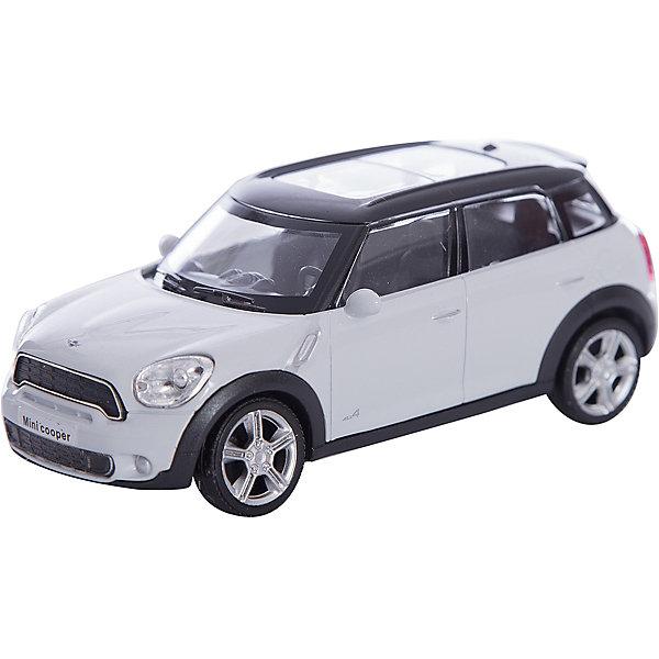 Машинка Mini Cooper S Countryman 1:43, AutotimeМашинки<br>Характеристики товара:<br><br>• цвет: белый<br>• возраст: от 3 лет<br>• материал: металл, пластик<br>• масштаб: 1:43<br>• размер упаковки: 16х6х7 см<br>• вес с упаковкой: 100 г<br>• страна бренда: Россия, Китай<br>• страна изготовитель: Китай<br><br>Эта коллекционная модель машинки отличается высокой детализацией. Окна - прозрачные, поэтому через них можно увидеть салон.<br><br>Машинка произведена из прочного и безопасного материала. <br><br>Машинку «Mini Cooper S Countryman» 1:43, Autotime (Автотайм) можно купить в нашем интернет-магазине.<br><br>Ширина мм: 165<br>Глубина мм: 57<br>Высота мм: 75<br>Вес г: 13<br>Возраст от месяцев: 36<br>Возраст до месяцев: 2147483647<br>Пол: Мужской<br>Возраст: Детский<br>SKU: 5584091