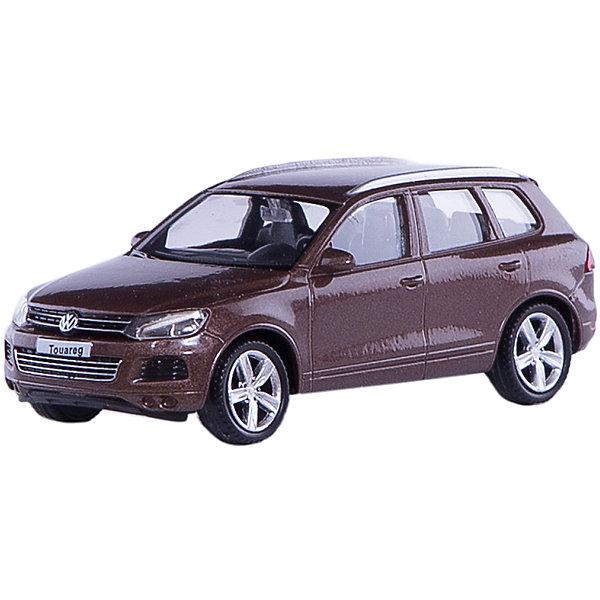 Машинка Volkswagen Touareg 4, AutotimeМашинки<br>Характеристики товара:<br><br>• цвет: коричневый<br>• возраст: от 3 лет<br>• материал: металл, пластик<br>• масштаб: 1:43<br>• колеса вращаются<br>• размер упаковки: 16х6х7 см<br>• вес с упаковкой: 100 г<br>• страна бренда: Россия, Китай<br>• страна изготовитель: Китай<br><br>Такая машинка представляет собой миниатюрную копию реально существующей модели. Она отличается высокой детализацией, является коллекционной моделью. <br><br>Сделана машинка из прочного и безопасного материала. Корпус - из металла. Благодаря прозрачным стеклам виден подробно проработанный салон.<br><br>Машинку «Volkswagen Touareg 4» 1:43, Autotime (Автотайм) можно купить в нашем интернет-магазине.<br>Ширина мм: 165; Глубина мм: 57; Высота мм: 75; Вес г: 13; Возраст от месяцев: 36; Возраст до месяцев: 2147483647; Пол: Мужской; Возраст: Детский; SKU: 5584096;