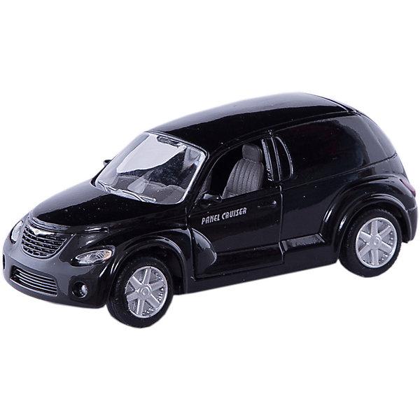 Машинка Chrysler Panel Cruiser 1:43, AutotimeМашинки<br>Характеристики товара:<br><br>• цвет: в ассортименте<br>• возраст: от 3 лет<br>• материал: металл, пластик<br>• масштаб: 1:43<br>• колеса вращаются<br>• размер упаковки: 16х6х7 см<br>• вес с упаковкой: 100 г<br>• страна бренда: Россия, Китай<br>• страна изготовитель: Китай<br><br>Эта коллекционная модель машинки отличается высокой детализацией. Окна - прозрачные, поэтому через них можно увидеть салон.<br><br>Сделана машинка из прочного и безопасного материала. Корпус - из металла.<br><br>Машинку «Chrysler Panel Cruiser», 1:43, Autotime (Автотайм) можно купить в нашем интернет-магазине.<br><br>Ширина мм: 165<br>Глубина мм: 57<br>Высота мм: 75<br>Вес г: 13<br>Возраст от месяцев: 36<br>Возраст до месяцев: 2147483647<br>Пол: Мужской<br>Возраст: Детский<br>SKU: 5584097
