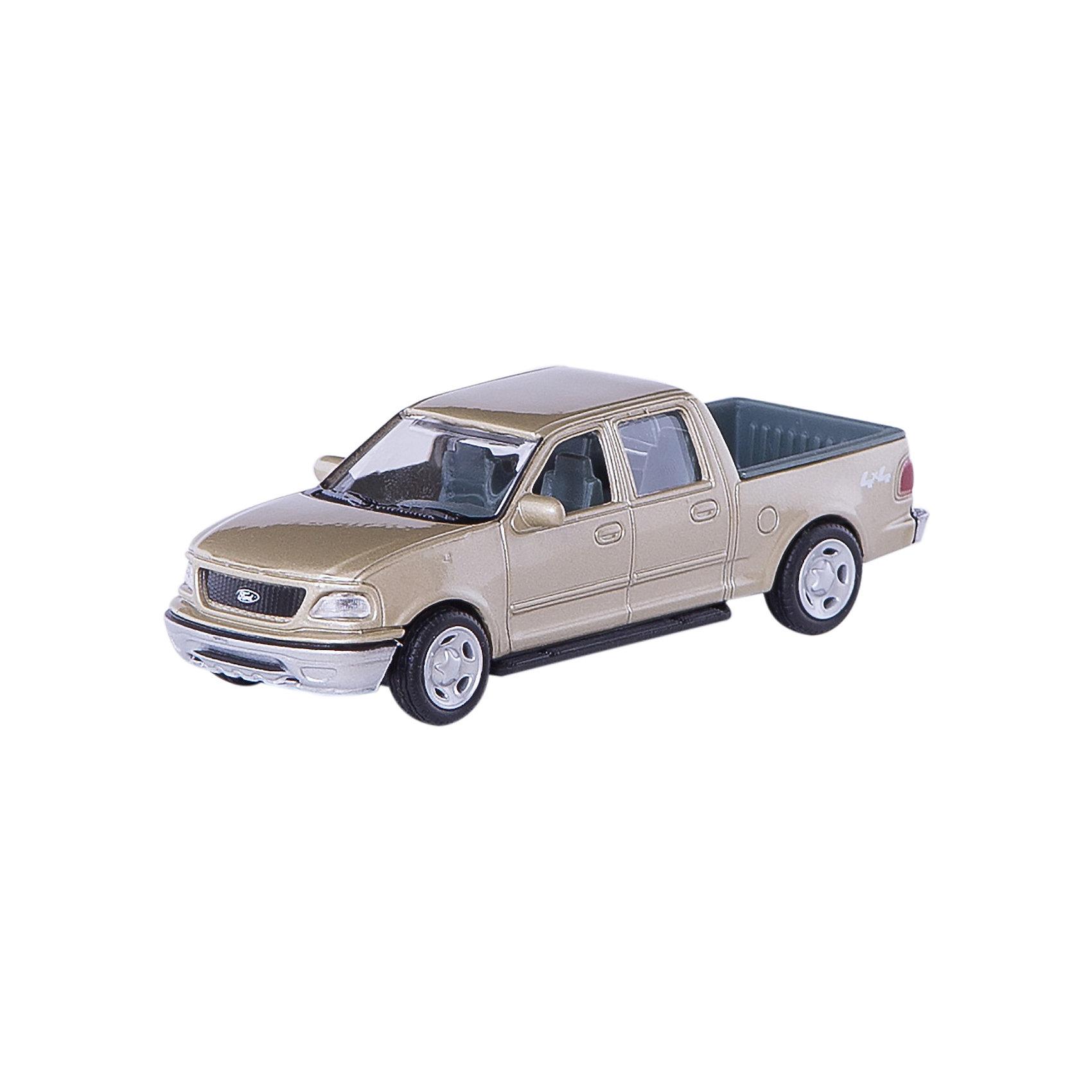 Машинка Ford F-150 Supercrew 1:43, AutotimeМашинки<br><br><br>Ширина мм: 165<br>Глубина мм: 57<br>Высота мм: 75<br>Вес г: 13<br>Возраст от месяцев: 36<br>Возраст до месяцев: 2147483647<br>Пол: Мужской<br>Возраст: Детский<br>SKU: 5584098