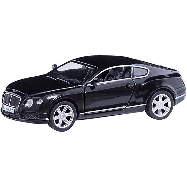 Машинка Bentley Continental GT V8 5, AutotimeМашинки<br>Характеристики товара:<br><br>• цвет: черный<br>• возраст: от 3 лет<br>• материал: металл, пластик<br>• масштаб: 1:32<br>• двери открываются<br>• размер упаковки: 16х7х7 см<br>• вес с упаковкой: 100 г<br>• страна бренда: Россия, Китай<br>• страна изготовитель: Китай<br><br>Эта модель представляет собой миниатюрную копию реально существующей машины. Она отличается высокой детализацией, является коллекционной моделью. <br><br>Сделана машинка из прочного и безопасного материала. Корпус - из металла. Благодаря прозрачным стеклам виден подробно проработанный салон.<br><br>Машинку «Bentley Continental GT V8 5», Autotime (Автотайм) можно купить в нашем интернет-магазине.<br><br>Ширина мм: 165<br>Глубина мм: 57<br>Высота мм: 75<br>Вес г: 13<br>Возраст от месяцев: 36<br>Возраст до месяцев: 2147483647<br>Пол: Мужской<br>Возраст: Детский<br>SKU: 5584104