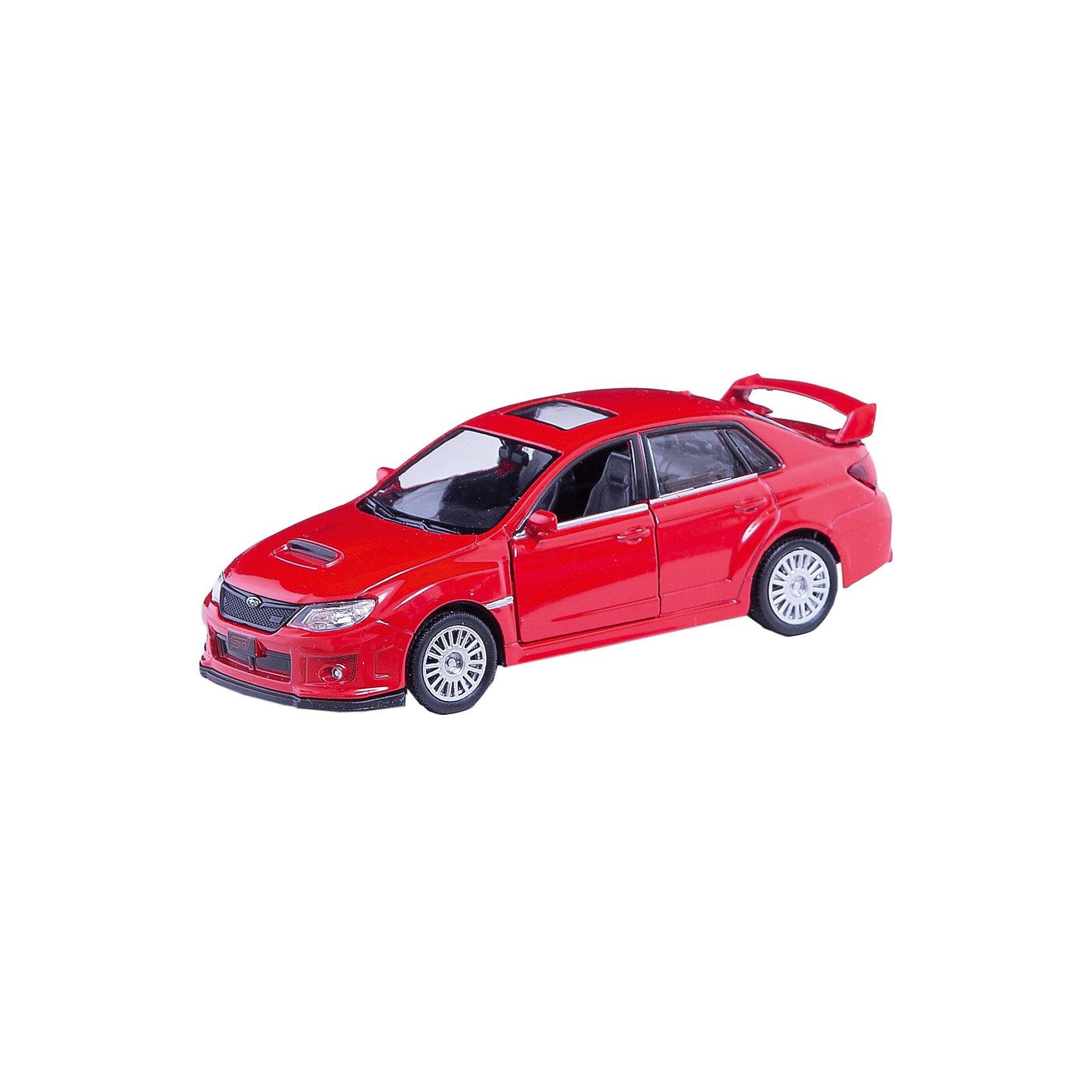 Машинка Subaru WRX STI 5, AutotimeМашинки<br>Характеристики товара:<br><br>• цвет: в ассортименте<br>• возраст: от 3 лет<br>• материал: металл, пластик<br>• масштаб: 1:32<br>• размер упаковки: 16х7х7 см<br>• вес с упаковкой: 100 г<br>• страна бренда: Россия, Китай<br>• страна изготовитель: Китай<br><br>Эта модель представляет собой миниатюрную копию реально существующей машины. Она отличается высокой детализацией, является коллекционной моделью. <br><br>Сделана машинка из прочного и безопасного материала. Корпус - из металла. Благодаря прозрачным стеклам виден подробно проработанный салон.<br><br>Машинку «Subaru WRX STI 5», Autotime (Автотайм) можно купить в нашем интернет-магазине.<br><br>Ширина мм: 165<br>Глубина мм: 57<br>Высота мм: 75<br>Вес г: 13<br>Возраст от месяцев: 36<br>Возраст до месяцев: 2147483647<br>Пол: Мужской<br>Возраст: Детский<br>SKU: 5584110