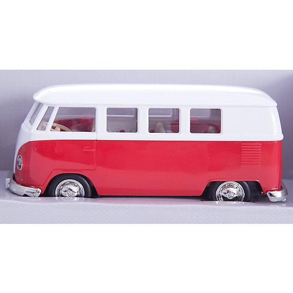 Машинка Volkswagen T1 Transporter 5, AutotimeМашинки<br>Характеристики товара:<br><br>• цвет: оранжевый, красный<br>• возраст: от 3 лет<br>• материал: металл, пластик<br>• масштаб: 1:32<br>• двери открываются<br>• размер упаковки: 16х7х7 см<br>• вес с упаковкой: 100 г<br>• страна бренда: Россия, Китай<br>• страна изготовитель: Китай<br><br>Такая машинка представляет собой миниатюрную копию реально существующей модели. Она отличается высокой детализацией, является коллекционной моделью. <br><br>Сделана машинка из прочного и безопасного материала. Корпус - из металла. <br><br>Машинку «Volkswagen T1 Transporter 5», Autotime (Автотайм) можно купить в нашем интернет-магазине.<br>Ширина мм: 165; Глубина мм: 57; Высота мм: 75; Вес г: 13; Возраст от месяцев: 36; Возраст до месяцев: 2147483647; Пол: Мужской; Возраст: Детский; SKU: 5584111;