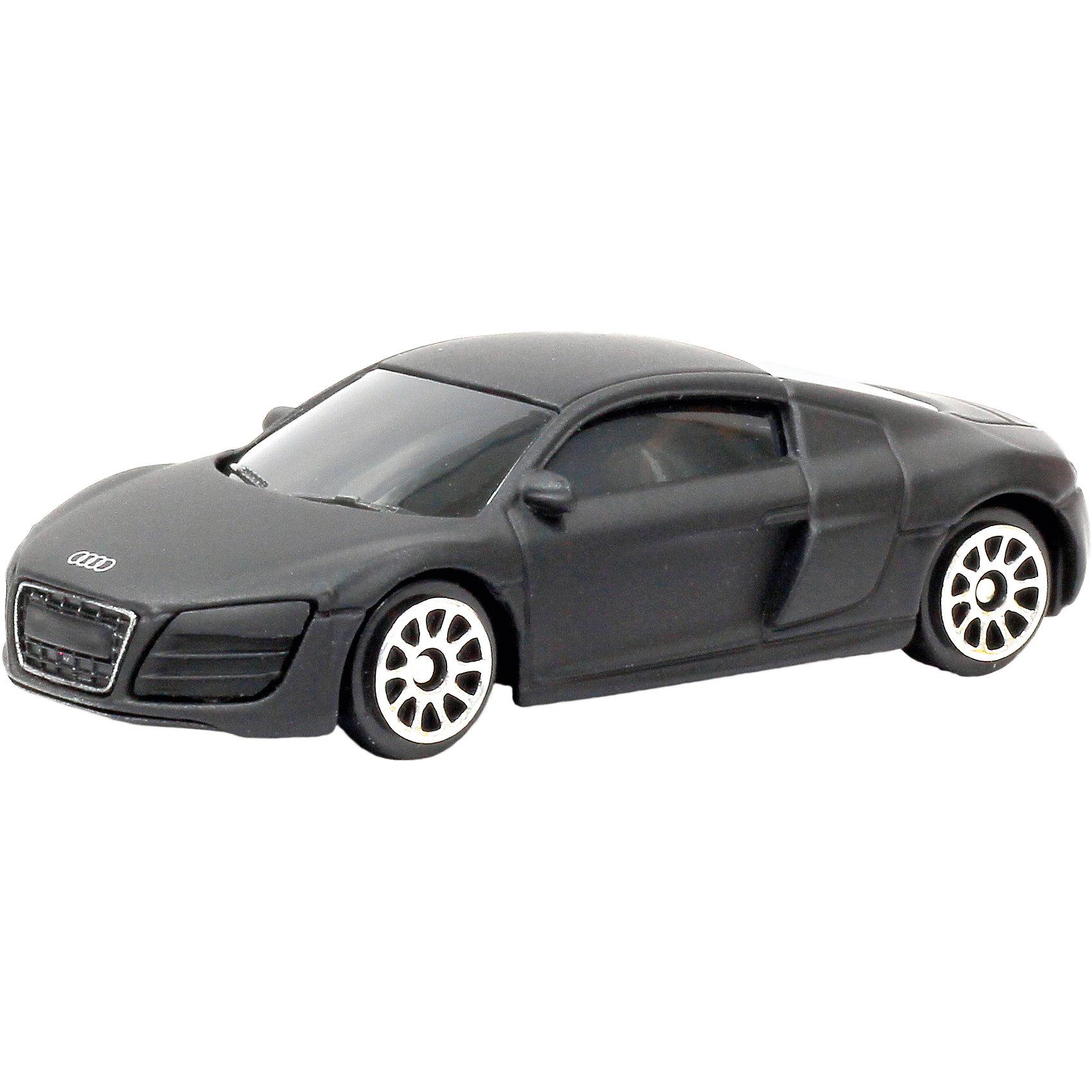 Машинка Audi R8 V10 Black Edition 3, AutotimeМашинки<br>Характеристики товара:<br><br>• цвет: черный<br>• возраст: от 3 лет<br>• материал: металл, пластик<br>• масштаб: 1:64<br>• двери открываются<br>• размер упаковки: 9х4х4 см<br>• вес с упаковкой: 100 г<br>• страна бренда: Россия, Китай<br>• страна изготовитель: Китай<br><br>Эта модель представляет собой миниатюрную копию реально существующей машины. Она отличается высокой детализацией, является коллекционной моделью. <br><br>Сделана машинка из прочного и безопасного материала. Корпус - из металла.<br><br>Машинку «Audi R8 V10 Black Edition 3», Autotime (Автотайм) можно купить в нашем интернет-магазине.<br><br>Ширина мм: 165<br>Глубина мм: 57<br>Высота мм: 75<br>Вес г: 15<br>Возраст от месяцев: 36<br>Возраст до месяцев: 2147483647<br>Пол: Мужской<br>Возраст: Детский<br>SKU: 5584113