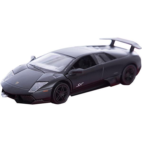 Машинка Lamborghini Murcielago LP670-4 SV Imperial Black Edition 5, AutotimeМашинки<br>Характеристики товара:<br><br>• цвет: серый<br>• возраст: от 3 лет<br>• материал: металл, пластик<br>• масштаб: 1:32<br>• колеса вращаются<br>• инерционная<br>• размер упаковки: 16х7х7 см<br>• вес с упаковкой: 100 г<br>• страна бренда: Россия, Китай<br>• страна изготовитель: Китай<br><br>Такая машинка представляет собой миниатюрную копию реально существующей модели. Она отличается высокой детализацией, является коллекционной моделью. <br><br>Сделана машинка из прочного и безопасного материала. Корпус - из металла. <br><br>Машинку «Lamborghini Murcielago LP670-4 SV Imperial Black Edition 5», Autotime (Автотайм) можно купить в нашем интернет-магазине.<br><br>Ширина мм: 165<br>Глубина мм: 57<br>Высота мм: 75<br>Вес г: 15<br>Возраст от месяцев: 36<br>Возраст до месяцев: 2147483647<br>Пол: Мужской<br>Возраст: Детский<br>SKU: 5584117