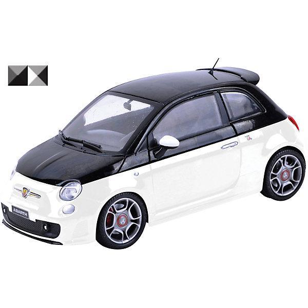 Машинка Abarth 500 1:18, AutotimeМашинки<br>Характеристики товара:<br><br>• цвет: черный, белый<br>• возраст: от 3 лет<br>• материал: металл, пластик<br>• масштаб: 1:18<br>• колеса поворачиваются<br>• открывается капот и багажник<br>• двери открываются<br>• размер упаковки: 12х31х16 см<br>• вес с упаковкой: 300 г<br>• страна бренда: Россия, Китай<br>• страна изготовитель: Китай<br><br>Эта модель представляет собой миниатюрную копию реально существующей машины. Она отличается высокой детализацией, является коллекционной моделью. <br><br>Сделана машинка из прочного и безопасного материала. Корпус - из металла. Благодаря прозрачным стеклам виден подробно проработанный салон.<br><br>Машинку «Abarth 500 1:18», Autotime (Автотайм) можно купить в нашем интернет-магазине.<br><br>Ширина мм: 350<br>Глубина мм: 158<br>Высота мм: 120<br>Вес г: 15<br>Возраст от месяцев: 36<br>Возраст до месяцев: 2147483647<br>Пол: Мужской<br>Возраст: Детский<br>SKU: 5584118