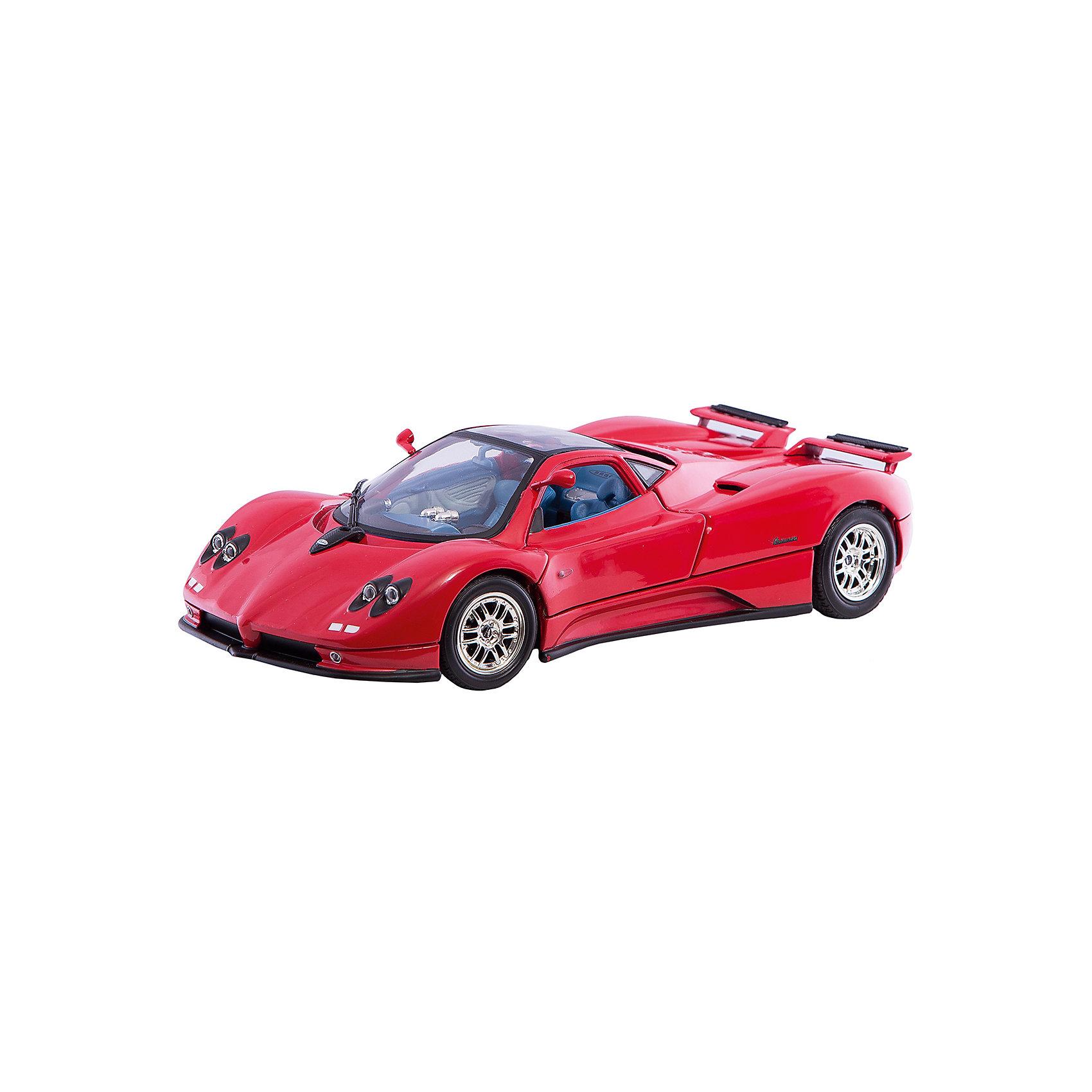 Машинка Pagani Zonda C12 1:18, AutotimeМашинки<br>Характеристики товара:<br><br>• цвет: черный, серебристый<br>• возраст: от 3 лет<br>• материал: металл, пластик<br>• масштаб: 1:18<br>• колеса поворачиваются<br>• открывается капот и багажник<br>• двери открываются<br>• размер упаковки: 12х31х16 см<br>• вес с упаковкой: 300 г<br>• страна бренда: Россия, Китай<br>• страна изготовитель: Китай<br><br>Эта модель представляет собой миниатюрную копию реально существующей машины. Она отличается высокой детализацией, является коллекционной моделью. <br><br>Сделана машинка из прочного и безопасного материала. Корпус - из металла. Благодаря прозрачным стеклам виден подробно проработанный салон.<br><br>Машинку «Pagani Zonda C12 1:18», Autotime (Автотайм) можно купить в нашем интернет-магазине.<br><br>Ширина мм: 350<br>Глубина мм: 158<br>Высота мм: 120<br>Вес г: 15<br>Возраст от месяцев: 36<br>Возраст до месяцев: 2147483647<br>Пол: Мужской<br>Возраст: Детский<br>SKU: 5584121