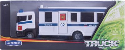 Машинка Scania Command Unit полиция 1:48, Autotime