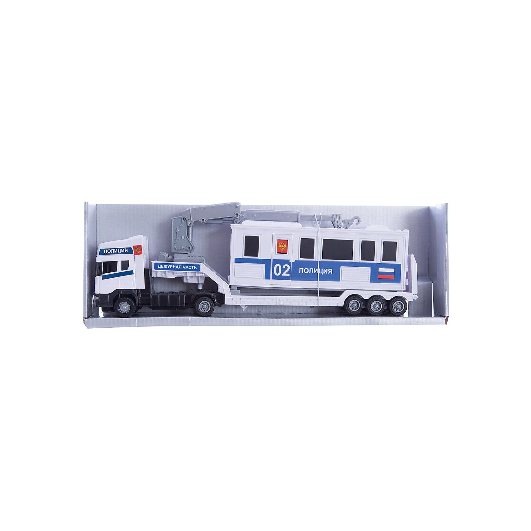 Машинка Scania база на платформе, полиция 1:48, AutotimeМашинки<br>Характеристики товара:<br><br>• цвет: белый<br>• возраст: от 3 лет<br>• материал: металл, пластик<br>• масштаб: 1:48<br>• платформа в комплекте<br>• размер упаковки: 35х6х11 см<br>• вес с упаковкой: 300 г<br>• страна бренда: Россия, Китай<br>• страна изготовитель: Китай<br><br>Такая машинка представляет собой миниатюрную копию полицейской машины с платформой. Она отличается высокой детализацией, является коллекционной моделью. <br><br>Сделана машинка из прочного и безопасного материала. Корпус - из металла и пластика.<br><br>Машинку «Scania база на платформе, полиция 1:48», Autotime (Автотайм) можно купить в нашем интернет-магазине.<br><br>Ширина мм: 362<br>Глубина мм: 114<br>Высота мм: 146<br>Вес г: 15<br>Возраст от месяцев: 36<br>Возраст до месяцев: 2147483647<br>Пол: Мужской<br>Возраст: Детский<br>SKU: 5584133