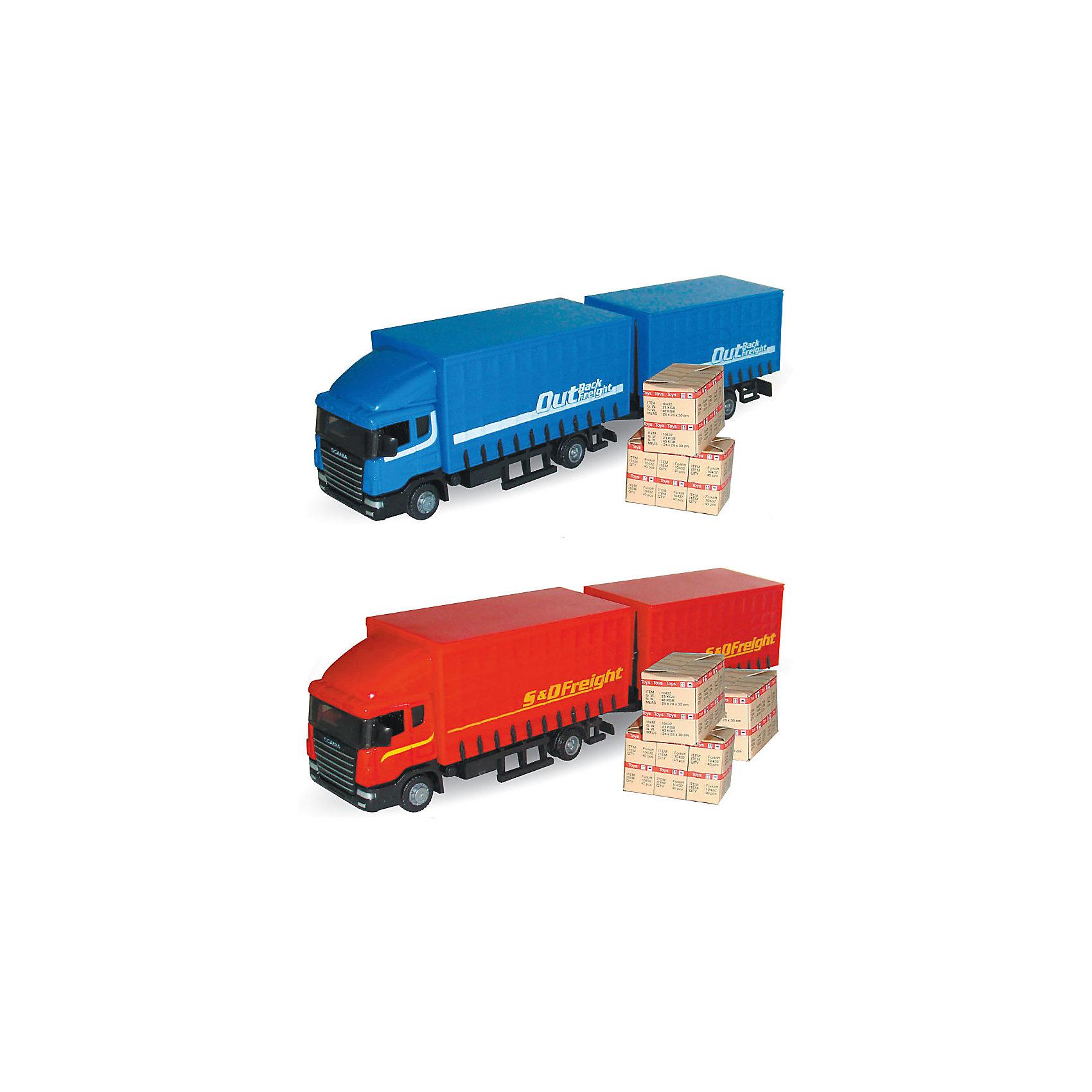 Машинка Scania автопоезд  1:48, AutotimeМашинки<br>Характеристики товара:<br><br>• цвет: красный<br>• возраст: от 3 лет<br>• материал: металл, пластик<br>• масштаб: 1:48<br>• инерционный механизм<br>• колеса вращаются<br>• размер упаковки: 45х6х11 см<br>• вес с упаковкой: 300 г<br>• страна бренда: Россия, Китай<br>• страна изготовитель: Китай<br><br>Такая машинка представляет собой миниатюрную копию грузовой машины с прицепом. Она отличается высокой детализацией, является коллекционной моделью. <br><br>Сделана машинка из прочного и безопасного материала. Корпус - из металла и пластика. <br><br>Машинку «Scania автопоезд 1:48», Autotime (Автотайм) можно купить в нашем интернет-магазине.<br><br>Ширина мм: 362<br>Глубина мм: 114<br>Высота мм: 146<br>Вес г: 15<br>Возраст от месяцев: 36<br>Возраст до месяцев: 2147483647<br>Пол: Мужской<br>Возраст: Детский<br>SKU: 5584138