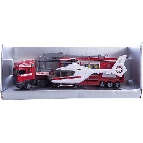 Машинка Scania пожарная база на платформе с вертолетом, звук, свет 1:48, AutotimeМашинки<br>Характеристики товара:<br><br>• цвет: мульти<br>• возраст: от 3 лет<br>• материал: металл, пластик<br>• масштаб: 1:48<br>• световые и звуковые эффекты<br>• на батарейках<br>• вертолет в комплекте<br>• размер упаковки: 35х6х11 см<br>• вес с упаковкой: 600 г<br>• страна бренда: Россия, Китай<br>• страна изготовитель: Китай<br><br>Эта машинка представляет собой миниатюрную копию пожарной машины с вертолетом. Она отличается высокой детализацией, является коллекционной моделью. <br><br>Сделана машинка из прочного и безопасного материала. Корпус - из металла и пластика. <br><br>Машинку «Scania пожарная база на платформе с вертолетом 1:48», Autotime (Автотайм) можно купить в нашем интернет-магазине.<br>Ширина мм: 362; Глубина мм: 114; Высота мм: 146; Вес г: 15; Возраст от месяцев: 36; Возраст до месяцев: 2147483647; Пол: Мужской; Возраст: Детский; SKU: 5584140;