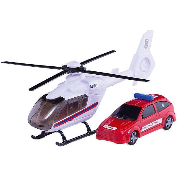 Машинка Air Emerg.Team пожарная c вертолетом, звук,свет 1:48, AutotimeМашинки<br>Характеристики товара:<br><br>• цвет: белый, красный<br>• возраст: от 3 лет<br>• материал: металл, пластик<br>• масштаб: 1:48<br>• световые и звуковые эффекты<br>• на батарейках<br>• двери машины открываются<br>• вертолет в комплекте<br>• размер упаковки: 35х6х11 см<br>• вес с упаковкой: 600 г<br>• страна бренда: Россия, Китай<br>• страна изготовитель: Китай<br><br>Эта машинка представляет собой миниатюрную копию пожарной машины с вертолетом. Она отличается высокой детализацией, является коллекционной моделью. <br><br>Сделана машинка из прочного и безопасного материала. Корпус - из металла и пластика. <br><br>Машинку «Air Emerg.Team пожарная c вертолетом, звук, свет», Autotime (Автотайм) можно купить в нашем интернет-магазине.<br><br>Ширина мм: 362<br>Глубина мм: 114<br>Высота мм: 146<br>Вес г: 15<br>Возраст от месяцев: 36<br>Возраст до месяцев: 2147483647<br>Пол: Мужской<br>Возраст: Детский<br>SKU: 5584146